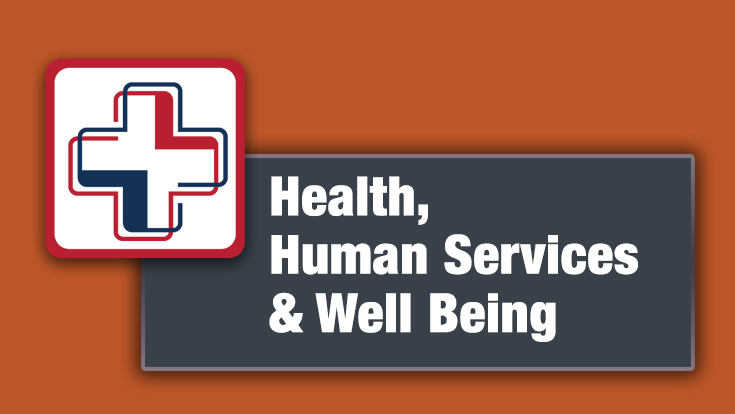 Health, Human Services, and Well-Being Logo