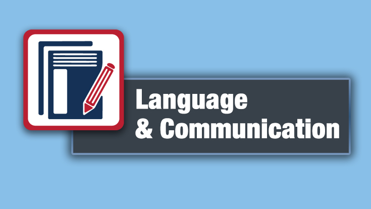 Language and Communication Logo