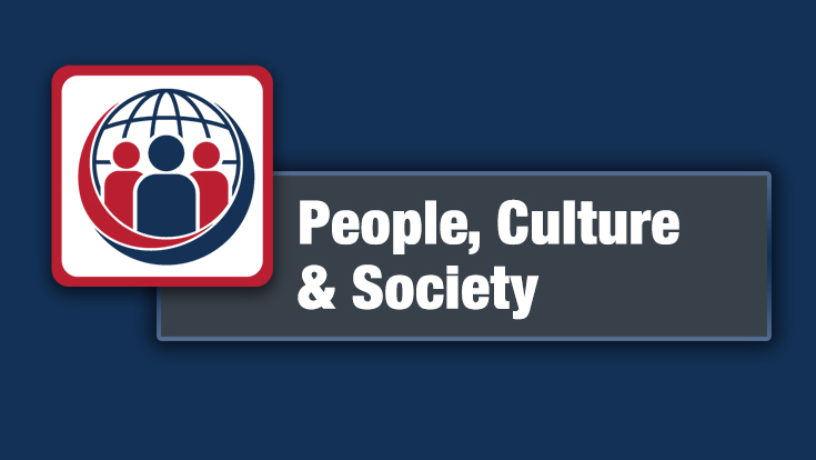 People, Culture, and Society Logo