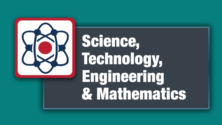 Science, Technology, Engineering, and Mathematics logo